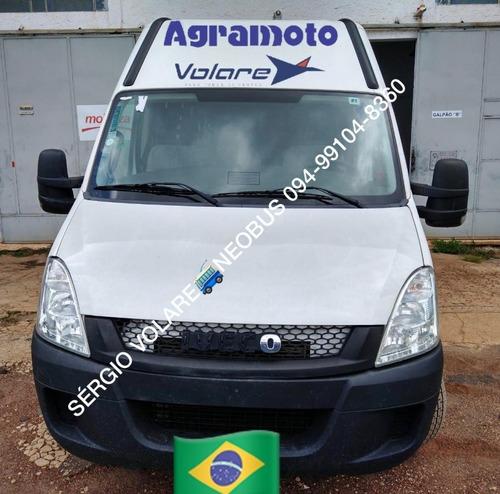 Iveco Daily 45c17 Minibus Executivo Cor Branca Ano 2016/2017