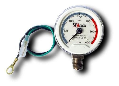 Manómetro Gnc, Xenic®, Equipos De 3ra, 4ta Y 5ta Generación.