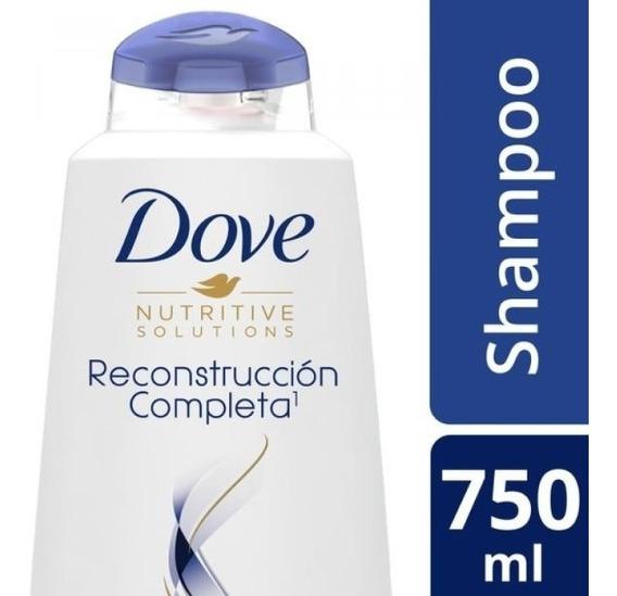 Shampoo Dove Reconstruccion Completa Recarga 750 Ml.