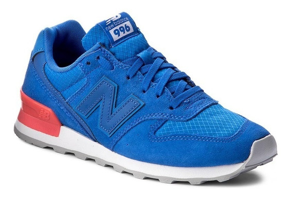 Zapatillas Urbana New Balance 996sl Azul Mujer Moda!! @