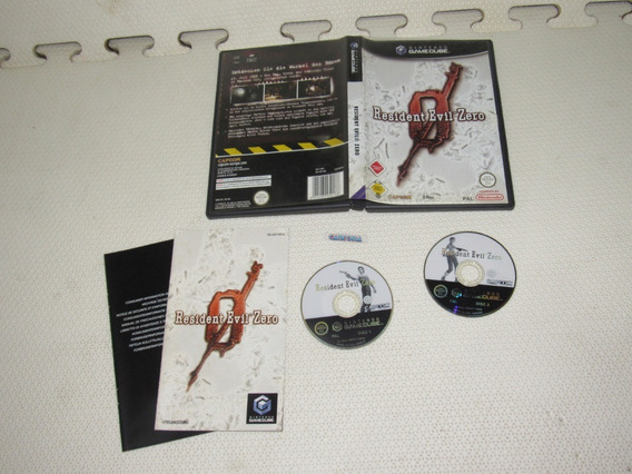 Resident Evil Zero Original Europeu Completa Para Game Cube