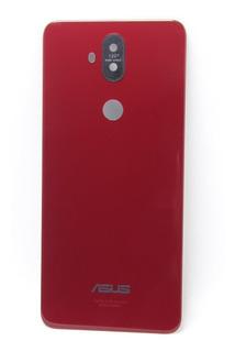 Tampa Vidro Traseiro Vermelho Zenfone 5 Selfie Pro Zc600kl