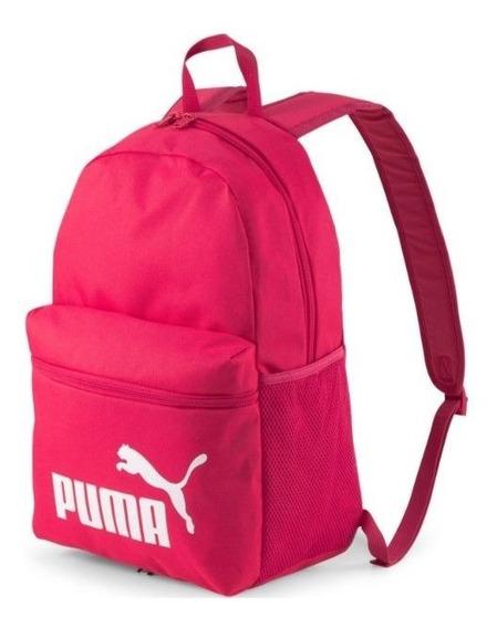 Puma Mochila Lifestyle Mujer Phase Backpack Fucsia