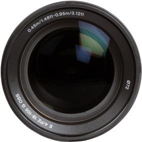 Lente Sony E Pz 18-105mm F/4 G Oss Garantia Novo