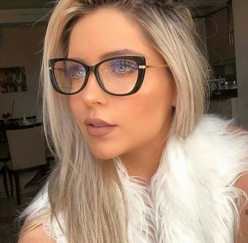 465c8bc9e Óculos Chique Sem Graus Feminino - Calçados, Roupas e Bolsas no ...