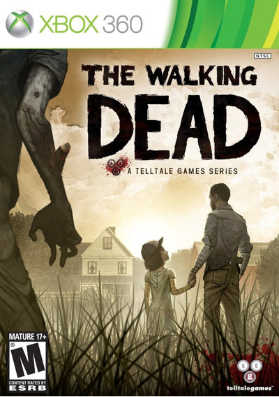 Jogo The Walking Dead Xbox 360 One Original Novo Mídia Físic