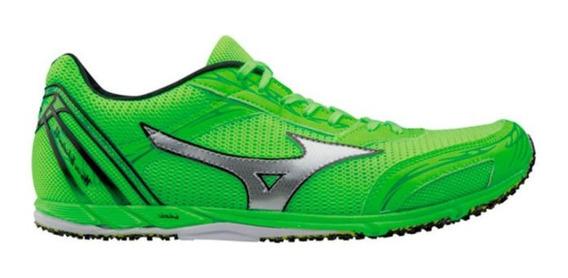 Tênis De Corrida Mizuno Wave Ekiden 11 Verde Neon Original!