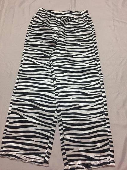 Pantalón Pijama Carters Satén Talle 5 Y Talle 7 Cebra