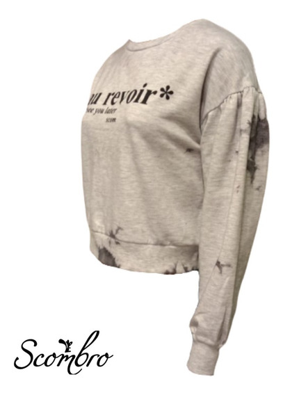 Buzo Scombro Modelo: Corto. Batik. Est Au Revoir. Cod: 20001