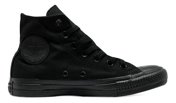 Tênis Converse Chuck Taylor All Star Hi Preto Total Original