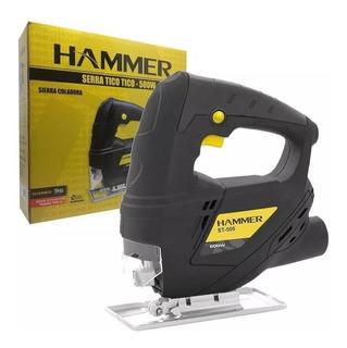 Serra Tico Tico 500w Gy-st 500 Hammer +2 Lâminas De Brinde