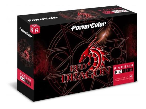 Placa De Video Vga Amd Powercolor Radeon Rx 580 8gb