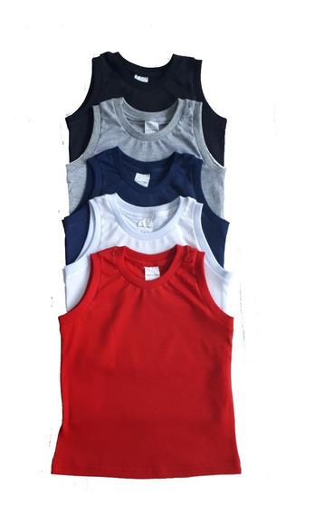 Lote C/ 5 Regata E 4 Camiseta M/c Infantil 2,3,4,6,8