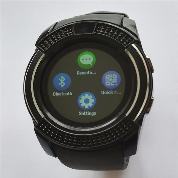 Reloj Inteligente V8 Completo Hd Ips Impermeable Pulsera Blu