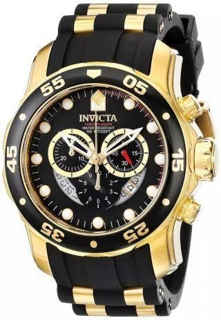 Relógio Invicta Pro Diver Dourado Masculino - 6981