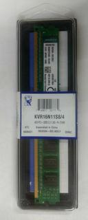 Memorias Ram Kingston 4gb Pc3-12800 Cl11 240-pin Dimm