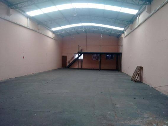 Barracão Para Alugar, 280 M² Por R$ 2.500/mês - Parque Paulista - Bauru/sp - Ba0018