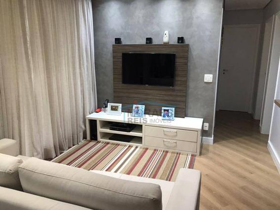 Apartamento Com 3 Dormitórios À Venda, 80 M² Por R$ 690.000,00 - Jurubatuba - São Paulo/sp - Ap12950
