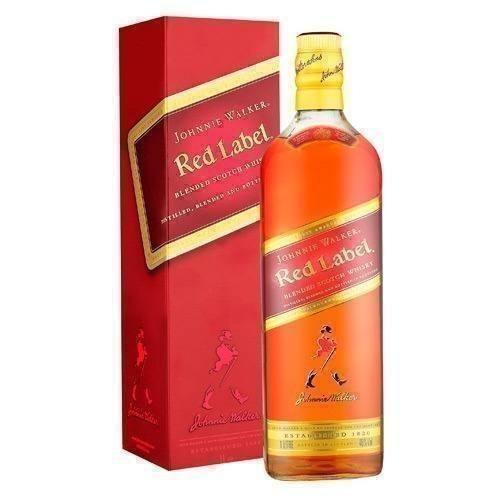 Whisky Johnnie Walker Red Label 750 /bbvinos
