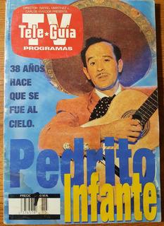Revista Tele Guía Pedro Infante 1995