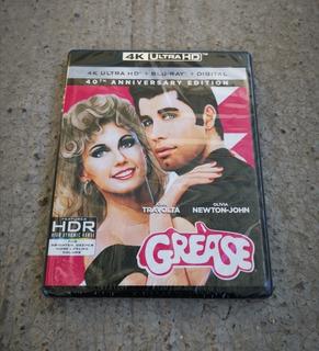 Vaselina (grease) 4k Ultra Hd Y Blu Ray. Importado U.s.a.
