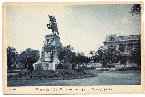 Postal Anitgua Santa Fe Argentina
