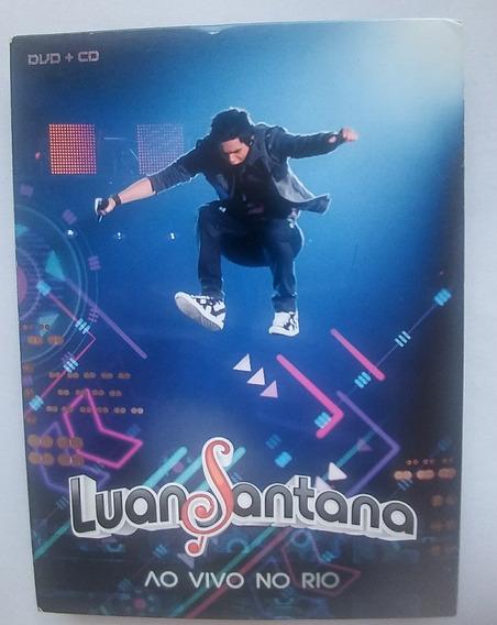 Luan Santana - Box Raro Digipack Dvd + Cd Ao Vivo No Rio