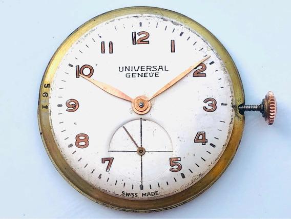 Máquina De Relógio De Pulso Universal Geneve A Corda Cal 264