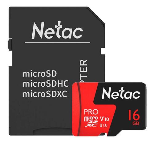 Cartão Memoria Micro Sdhc 16gb Extreme Pro Netac Cadapt
