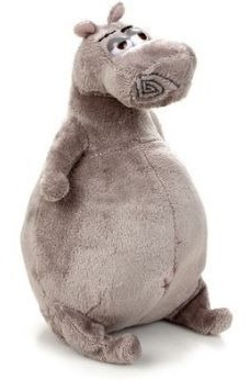 Pelúcia Glória Madagascar - Hipopótamo - Aprox 20 Cm.