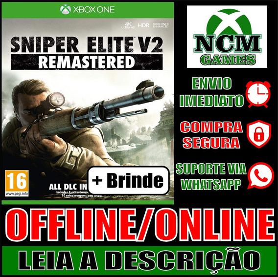 Sniper Elite V2 Remastered Xbox One Offline/ Online + Brinde