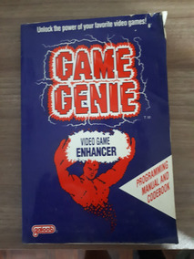 Nintendo Nes - Livro Do Game Genie Original Nes