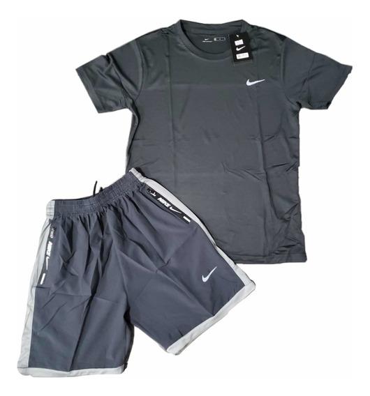 Conjunto Deportivo Camiseta Y Pantaloneta Nike Y adidas