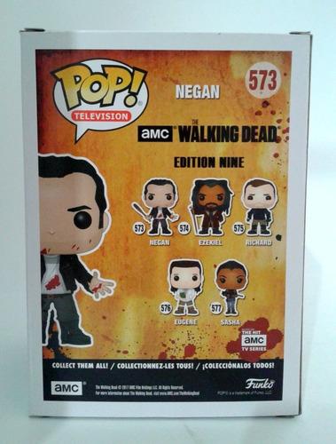 Funko Pop caso fresco * The Walking Dead #573 sangriento Negan salpicaduras de sangre