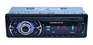 Radio Con Bluetooh 60wx4 Carro Stereo Usb Llamadas