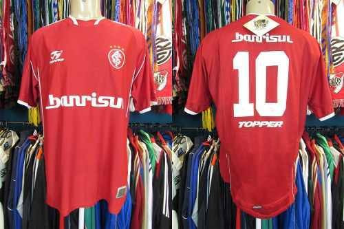 Internacional 2003 Camisa Titular Tamanho Gg Número 10.