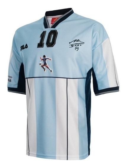 Camiseta Argentina Partido Homenaje Diego Maradona Cuotas