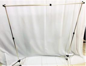1 Tecido Branco1,50 X 2 Newborn Fundo Infinito Estúdio Foto