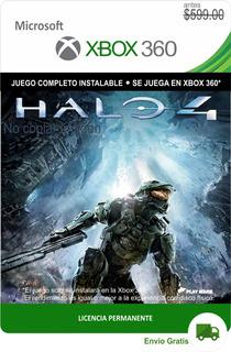 Halo 4 Xbox 360 - Español -- Envío Gratis -
