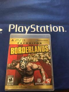 Borderlands 1 Juego De Ps3