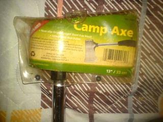 Hacha De Campamento