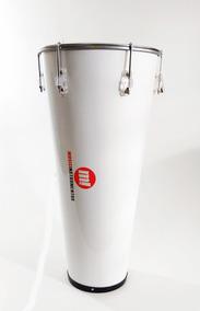 Timba 13 X 70 Madeira Branco Pele Poliéster E Talabarte 1 G