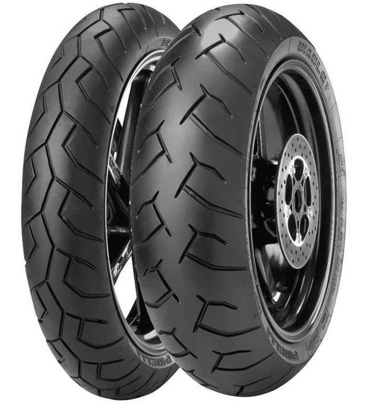 Par Pneu Honda Cb 500f 120/70r17 + 160/60r17 Diablo Pirelli
