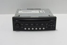 Radio Cd Peugeot 3008 C/ Detalhe Cód. 9666967477 Ano 2011