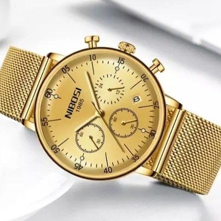 Relógio Nibosi Original Aprova D