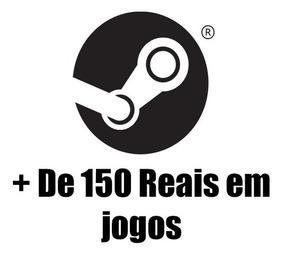 150+ Reais Em Jogos Steam Aleátorio - Leia A Descrição Keys