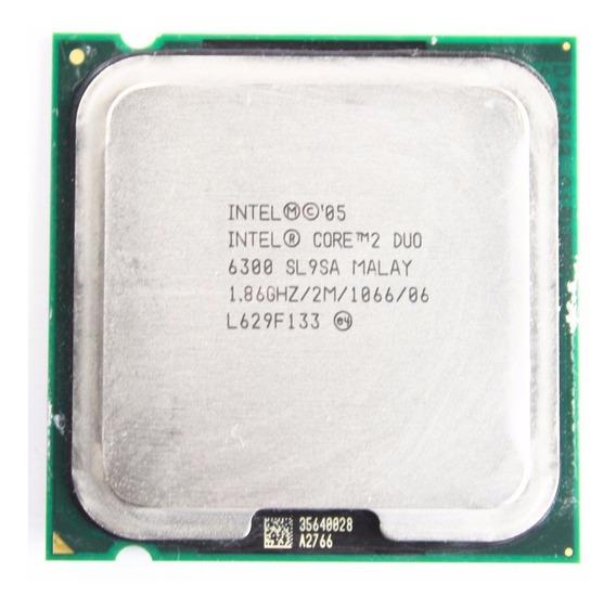 Processador Intel Core 2 Duo 6300 2m Cache 1.86ghz
