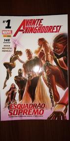 Hq Avante Vingadores Coleção Completa 23 Volumes Panini