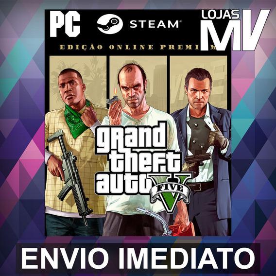 Gta V Online Premium Pc Steam Gift Presente