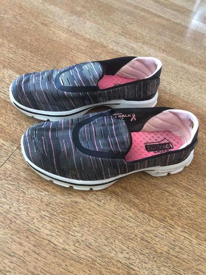 Zapatillas Skechers Usadas De Dama